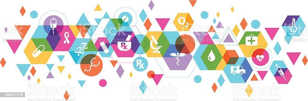 Medical design vector art illustration