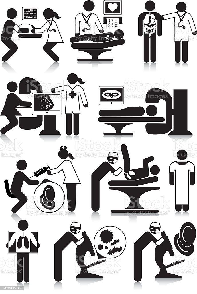 Medical Diagnosis vector art illustration
