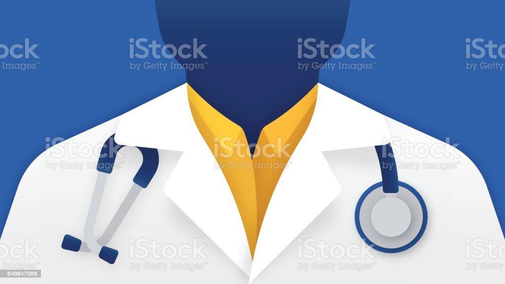 Medical Doctor vector art illustration