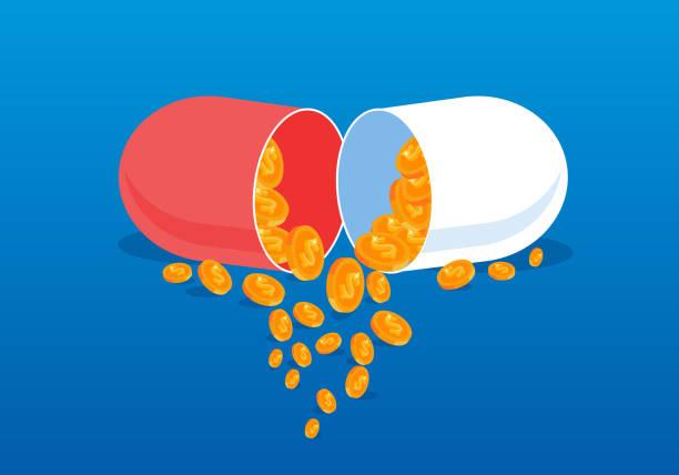 illustrations, cliparts, dessins animés et icônes de coûts des médicaments médicaux - aide soignant