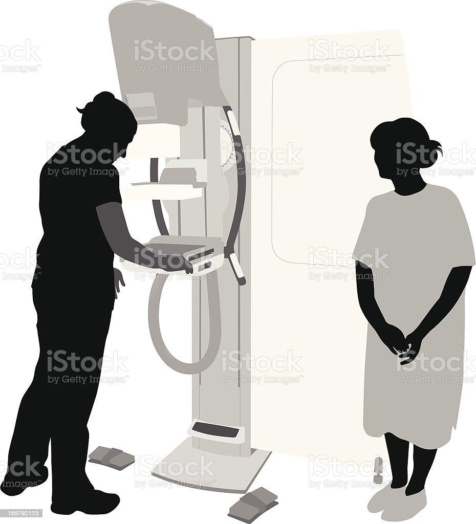 Medical Equipment Vector Silhouette vector art illustration