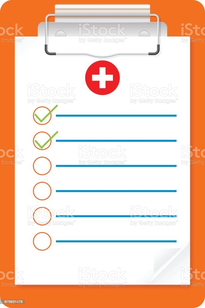 Medical exam document clipboard icon royalty-free medical exam document clipboard icon stock vector art & more images of analyzing