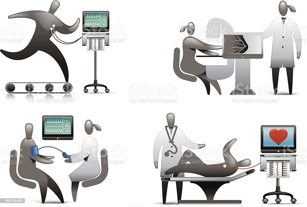 Medical Exam royalty-free medical exam stock vector art & more images of abstract