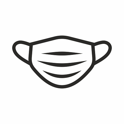 Medical Face Mask Icon Stock Illustration Download Image Now Istock