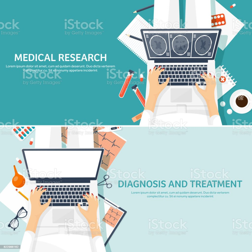 Medical flat background. Health care,first aid,research, cardiology. Medicine,study. Chemical engineering ,pharmacy vector art illustration