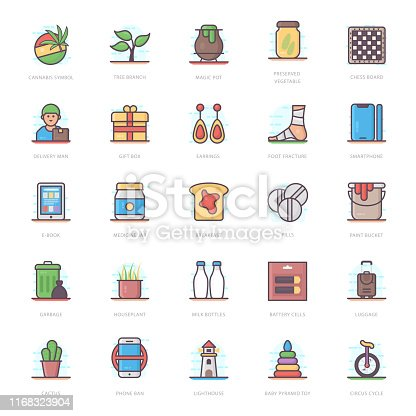 We are presenting medical flat icons pack for your design project. Editable vectors are easy to use for your design needs.