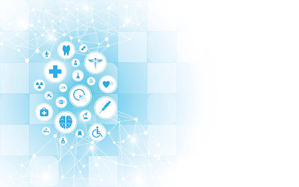 medical health care innovation abstract backgroundvectorkunst illustratie