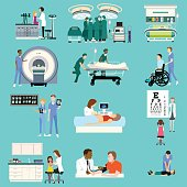 Medical Healthcare Activities Cliparts