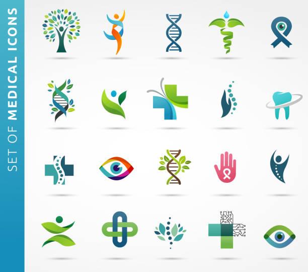 ilustrações, clipart, desenhos animados e ícones de médico, ícones de saúde e farmácia - medicina alternativa