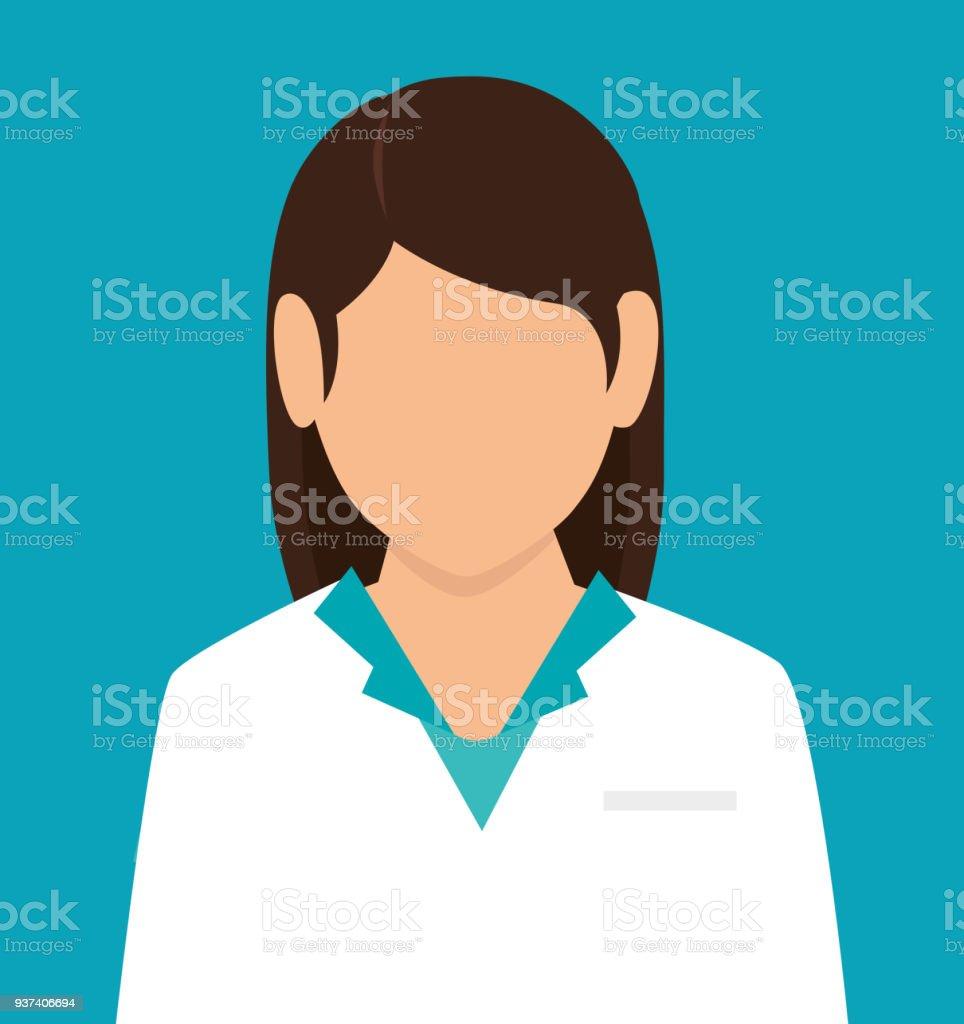 Medizinische medizinische Grafik – Vektorgrafik