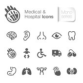 Medical & hospital related icon