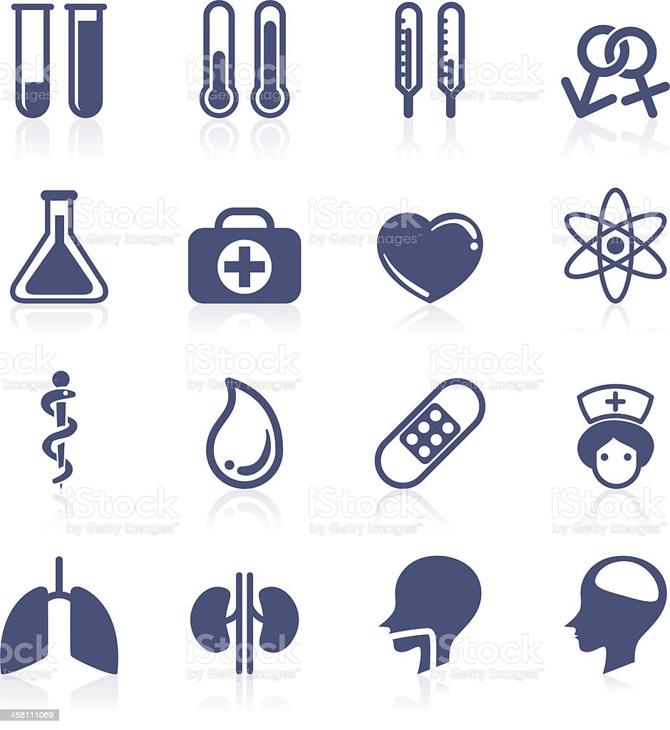 Medical icon collection vector art illustration