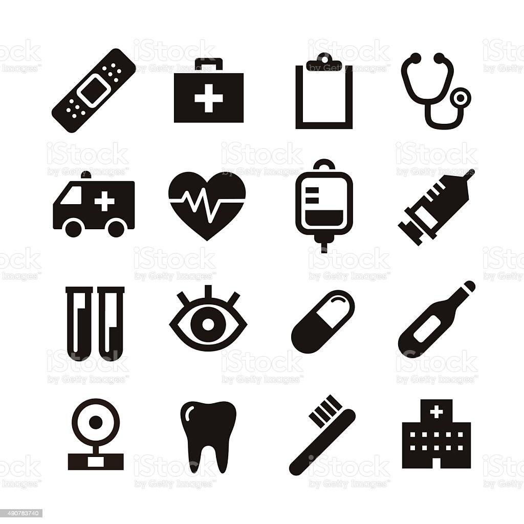 Medical icon stock vector art more images of 2015 490783740 istock medical icon royalty free medical icon stock vector art amp more images of 2015 biocorpaavc Image collections