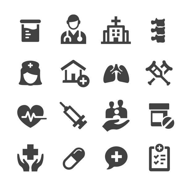 醫療圖示-acme 系列 - 診所 幅插畫檔、美工圖案、卡通及圖標