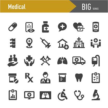 Medical Icons - Big Series