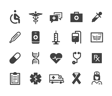 Medical Icons - Classic Series