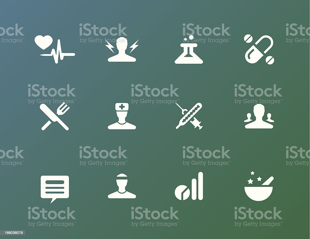 Medical Icons Set royalty-free stock vector art