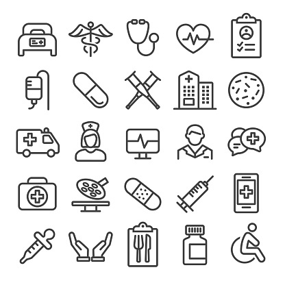 Medical Icons - Smart Line Series clipart