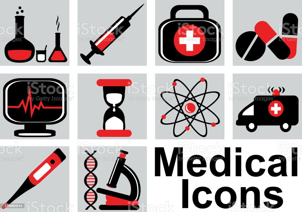 medical icons royalty-free medical icons stock vector art & more images of collection