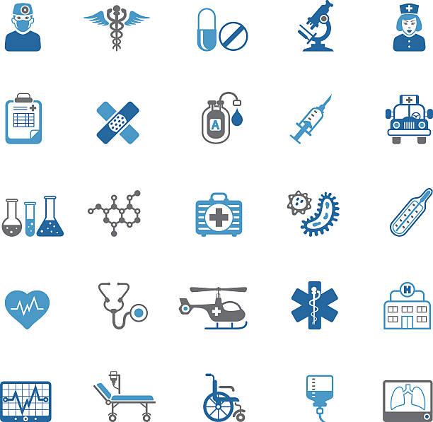 医療アイコン - 医療機器点のイラスト素材/クリップアート素材/マンガ素材/アイコン素材