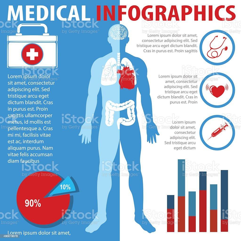 Ilustración de Anatomía De Texto Médicos Infografía y más banco de ...