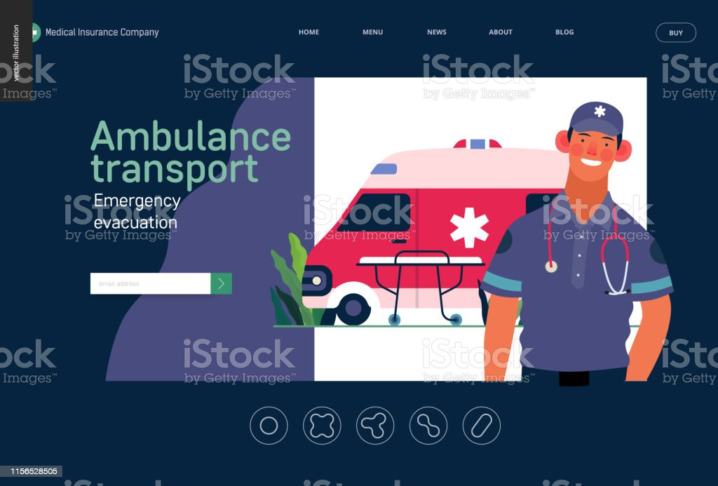 Medical insurance template -ambulance transport and emergency...