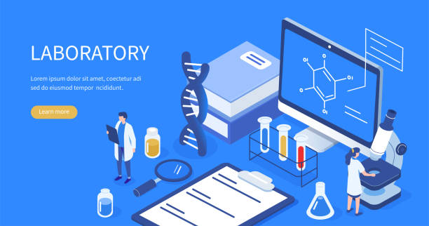 medical laboratory - research stock illustrations