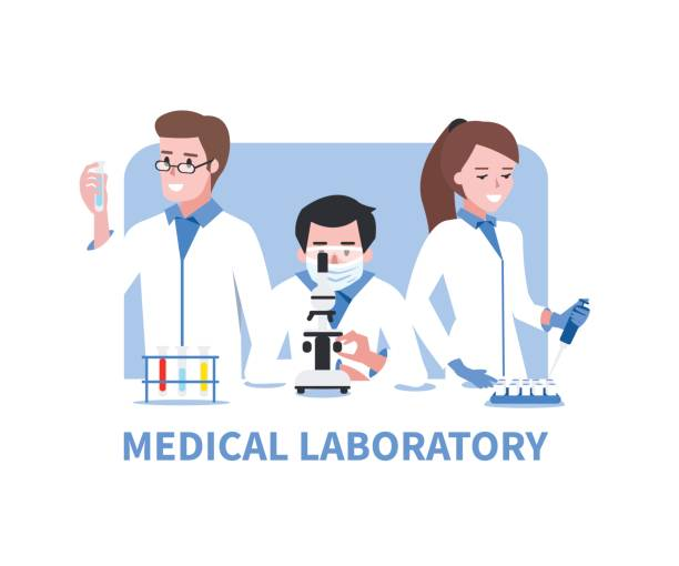 Royalty Free Laboratory Technician Clip Art, Vector Images ...