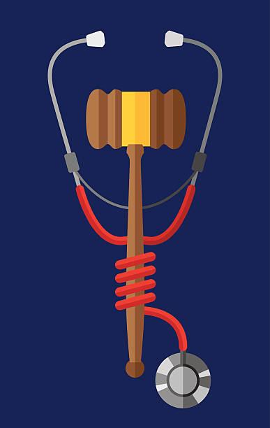 ilustrações, clipart, desenhos animados e ícones de lei de médico - assistente jurídico