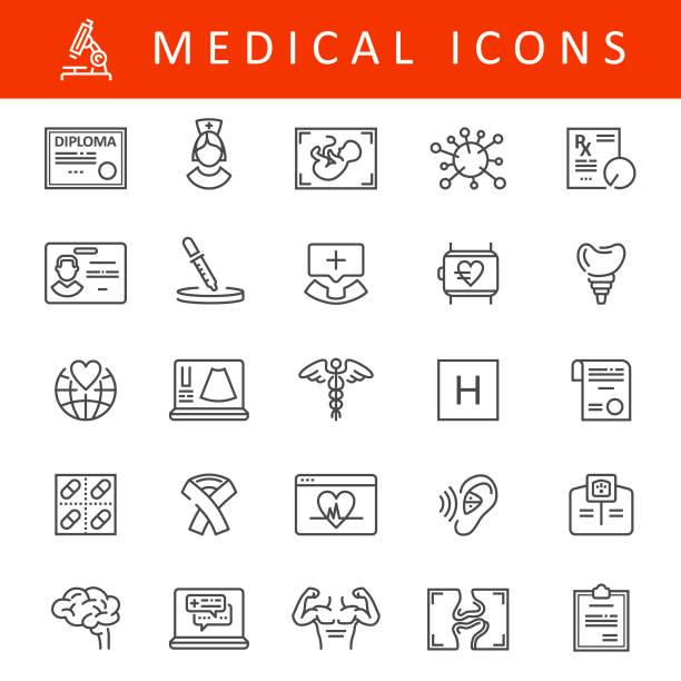 醫療線圖示 - hearing aid 幅插畫檔、美工圖案、卡通及圖標