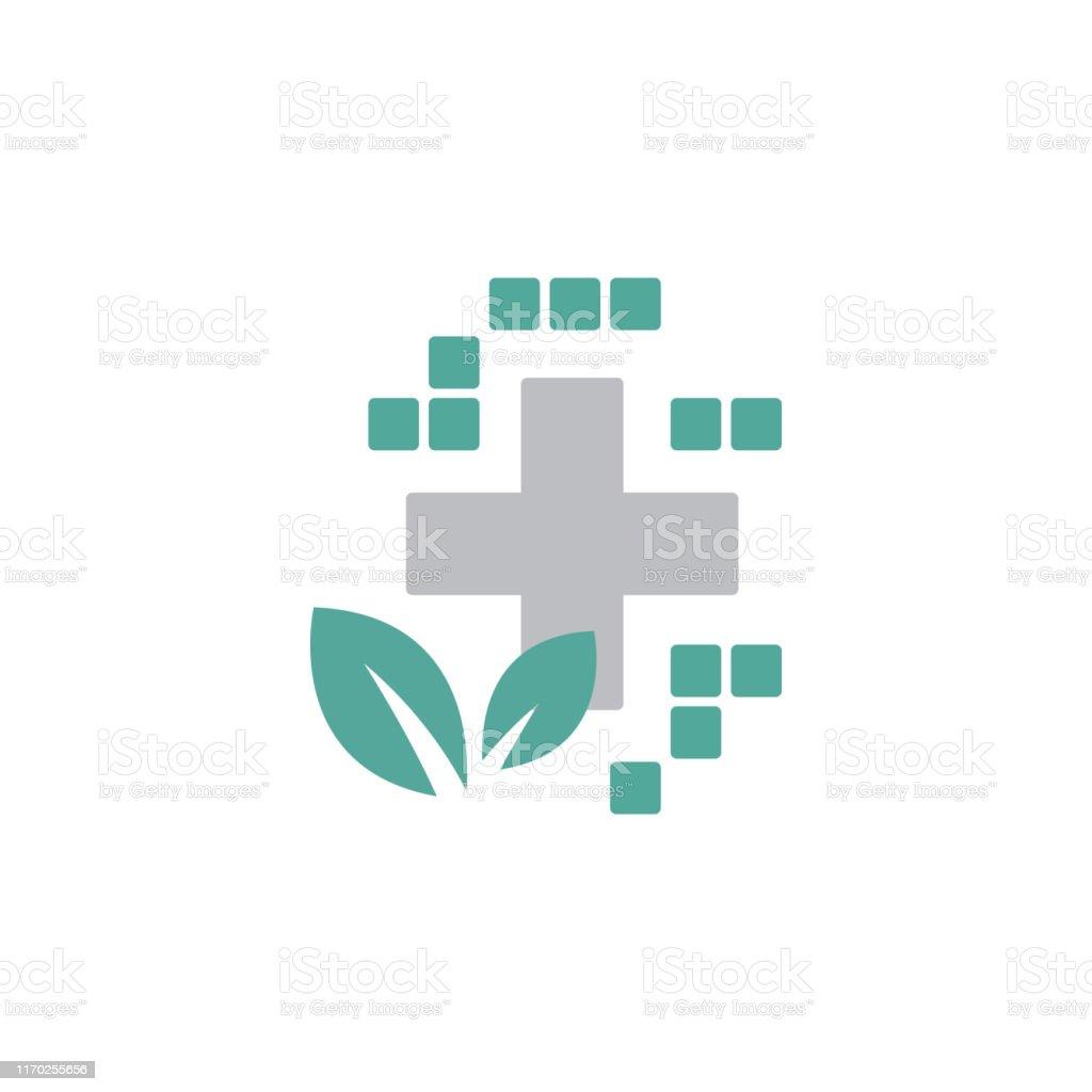 medical logo design. Health care logo. Pharmacy healthcare vector...