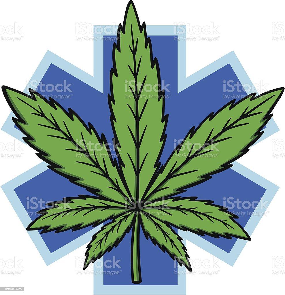 Medical Marijuana vector art illustration