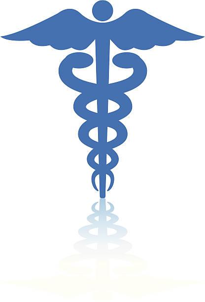 ilustrações, clipart, desenhos animados e ícones de médico ou de saúde, caduceus - logotipos de médicos