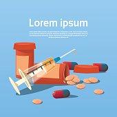 Medical Pills Tablets Bottle Health Care