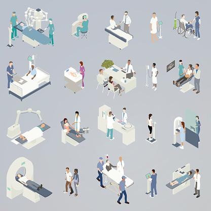 Medical Procedures Illustration Stock Illustration - Download Image Now