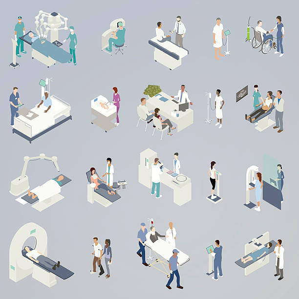 Medical Procedures Illustration - Illustration vectorielle