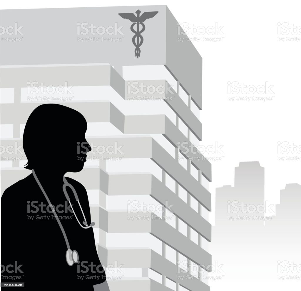 Medical Profession vector art illustration