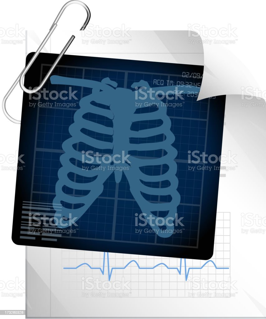 Medical Report royalty-free stock vector art