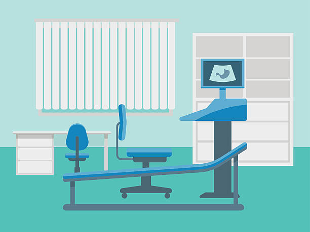 Royalty Free Doctors Office Clip Art, Vector Images ...