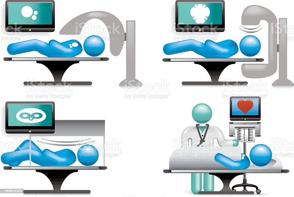 Medical Scanning royalty-free medical scanning stock vector art & more images of abstract