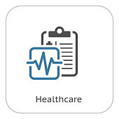 Medical Services and Health Care Flat Icon