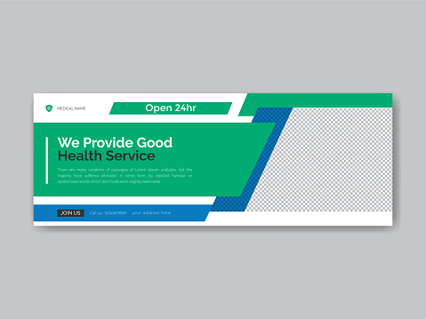 Medical Social media Covers and post Design template