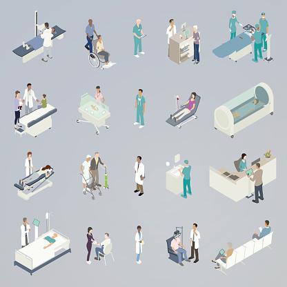 Medical Spot Illustration Stock Illustration - Download Image Now