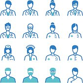 Medical Occupation icons