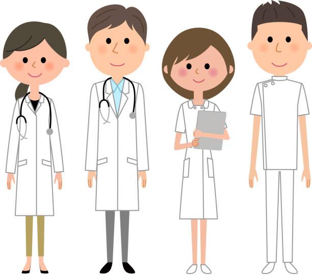 医療スタッフ - ビジネスマン 日本人点のイラスト素材/クリップアート素材/マンガ素材/アイコン素材