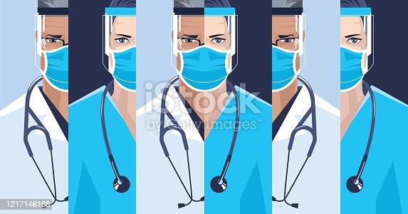 istock Medical staff. 1217146166
