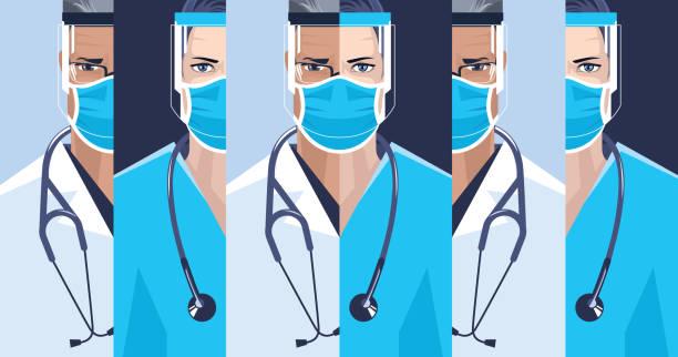 Medical staff. – artystyczna grafika wektorowa