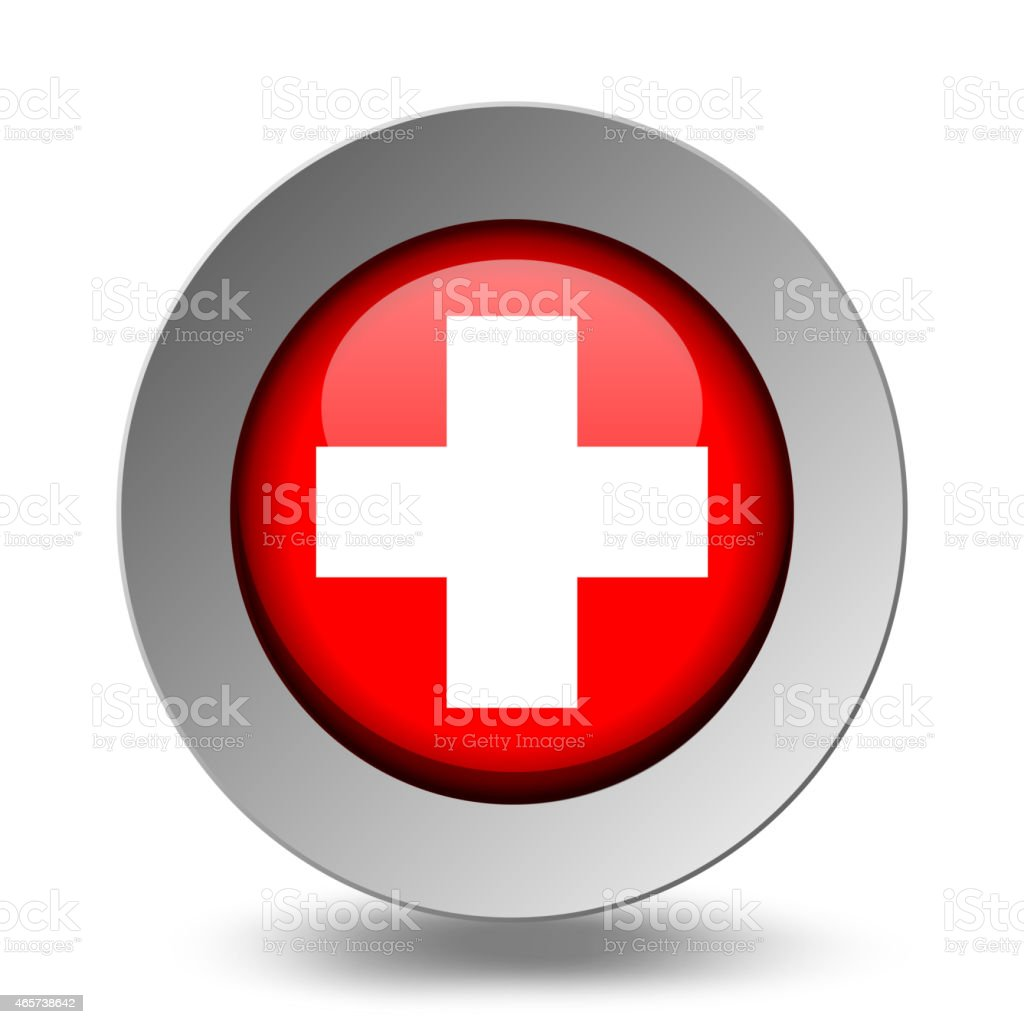 Medical Symbol Emergency Icons Red Set Stock Vector Art More