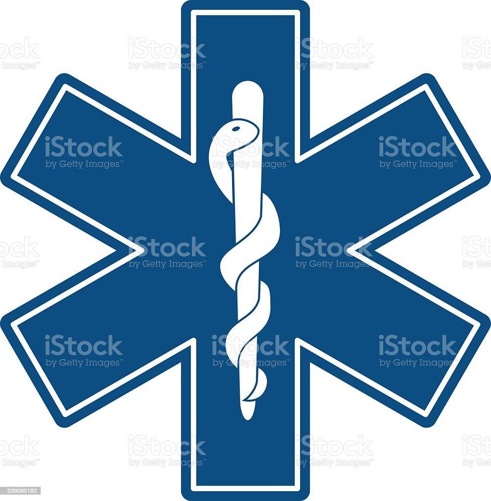 Símbolo Médico - ilustração de arte em vetor
