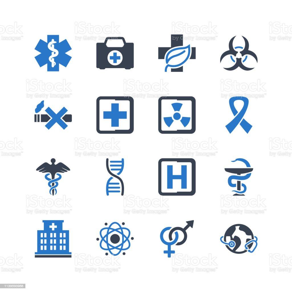 Hospital - Medical Symbols & Signs Icons